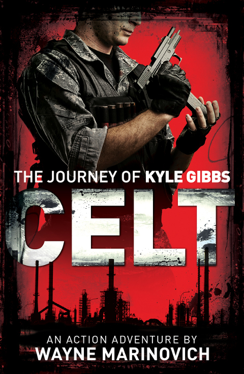 """Celt Paperback- The journey of Kyle Gibbs by Wayne Marinovich"""