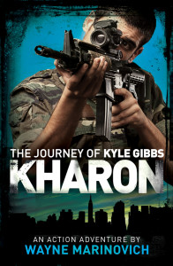 """Kharon - Book 3 in the Kyle Gibbs Series"""