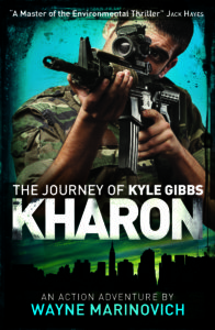 """Kharon - The Kyle Gibbs series - Marinovich book"""