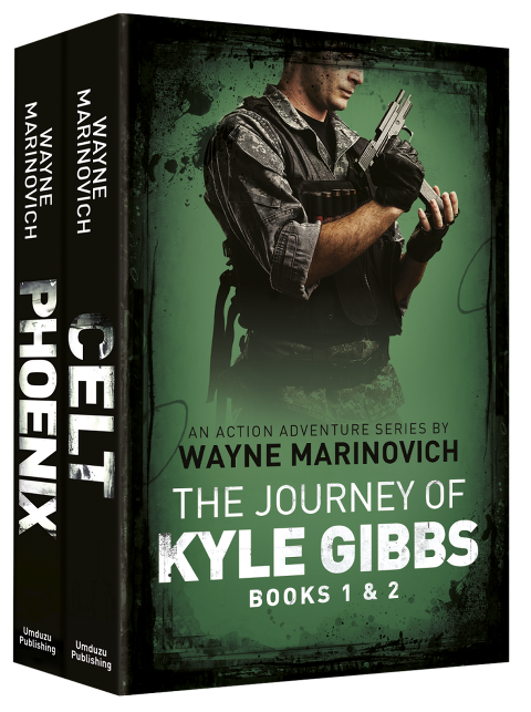 """""""The Journey of Kyle Gibbs - a Climate Change thriller"""""""