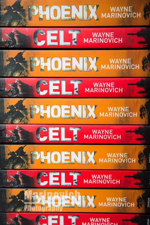"""Celt and Phoenix giveaway - Marinovich Books"""