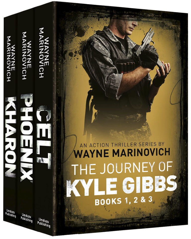 """Kyle Gibbs Box Set - Books 1, 2 & 3 - Marinovich Books"""